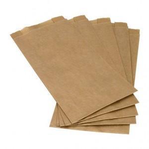 Torebki fałdowe z papieru kraft