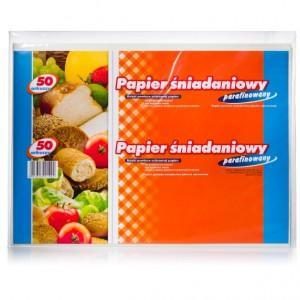 Papier śniadaniowy parafinowany 50 arkuszy