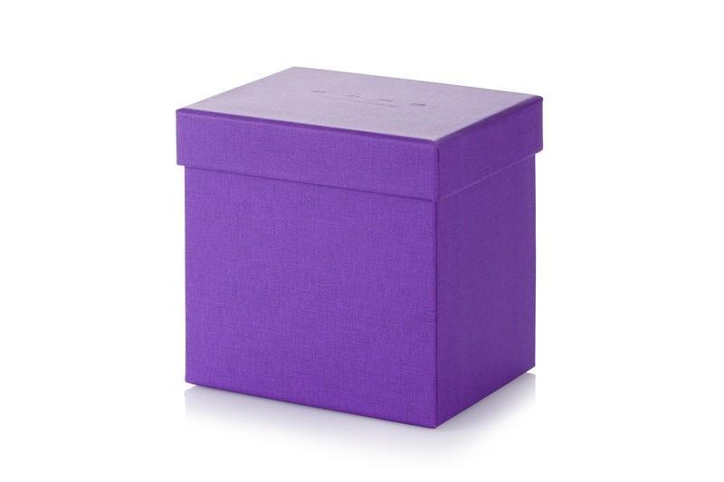 pudełko oklejone tkaniną