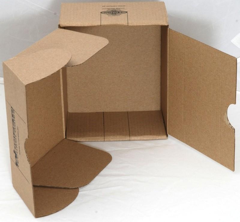 Wewnętrzna konstrukcja pudełka